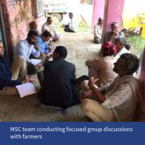 MSC team with Farmers