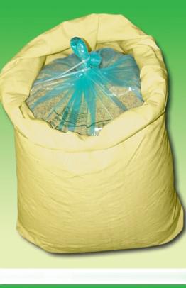 A bag of grains