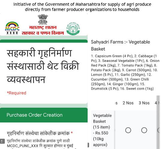 Department of Co-operation, Marketing and Textiles, Maharashtra