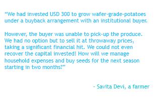 Savita Devi, an Indian Farmer