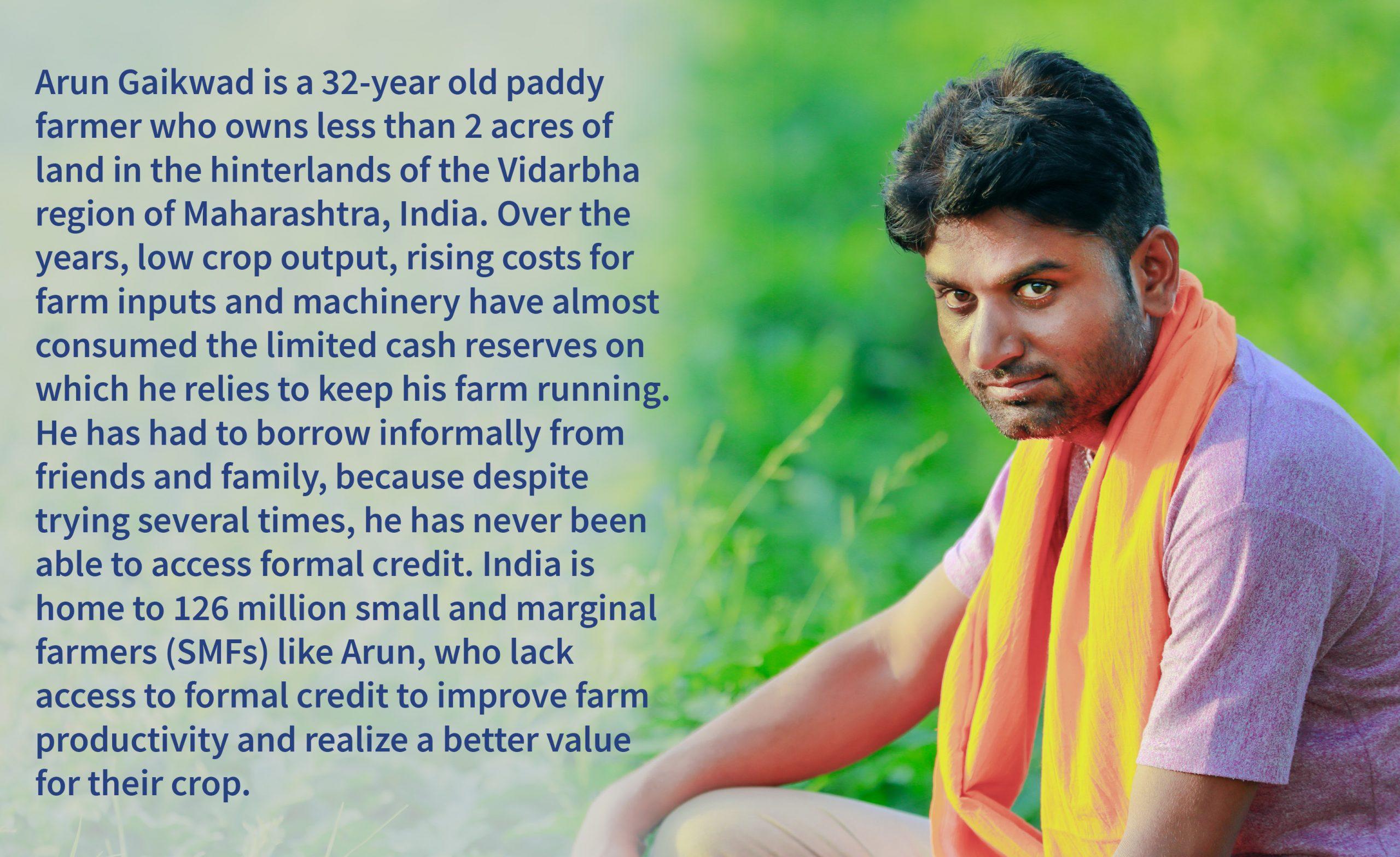 Story of Arun Gaikawad, Indian Farmer